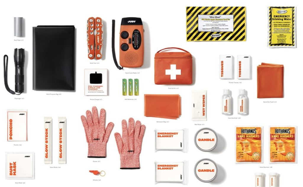 Judy Emergency Kit Tools