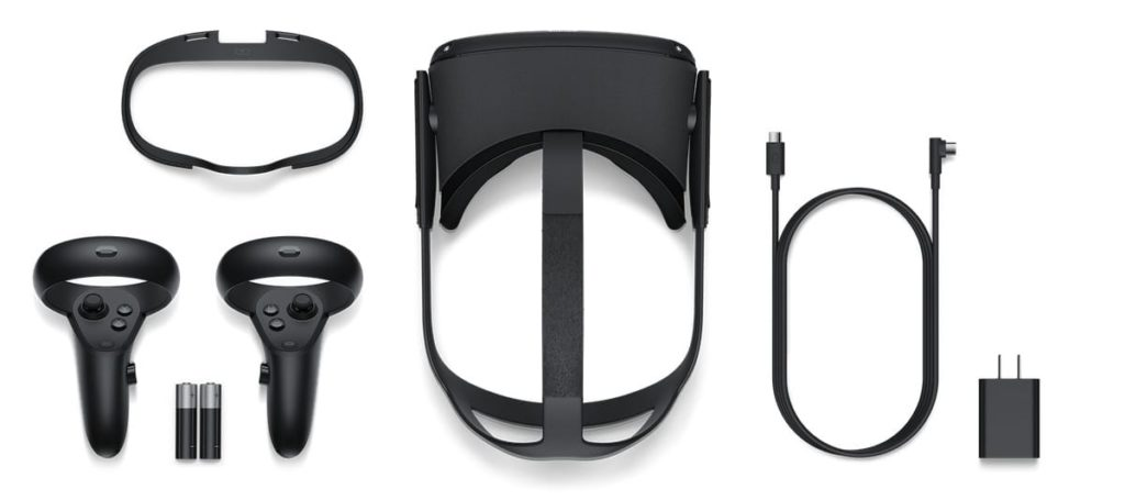 Lieferumfang - Oculus Quest All-in-One-VR Headset
