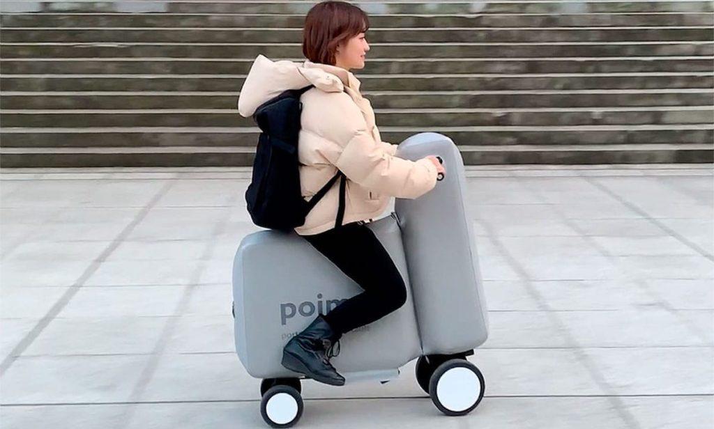 Das aufblasbare E-Bike Poimo