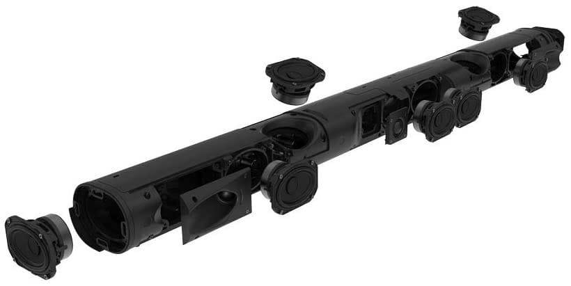 Sonos Arc Bauteile - Mikrofone und Lautsprecher