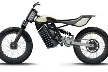 TREVOR FTR Stella Elektro-Motorrad