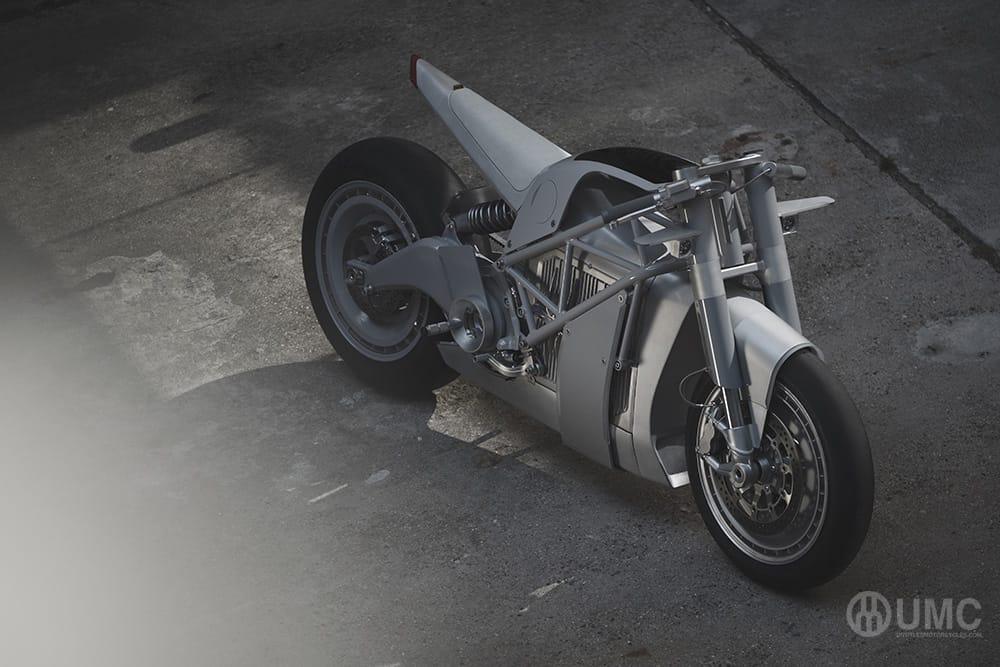 Das Elektro-Motorrad UMC-063 XP ZERO