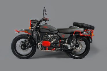 Ural One-Off Red Sparrow Motorrad