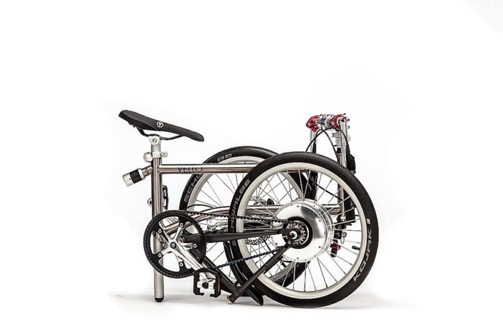 Vello Bike+ E-Bike gefaltet