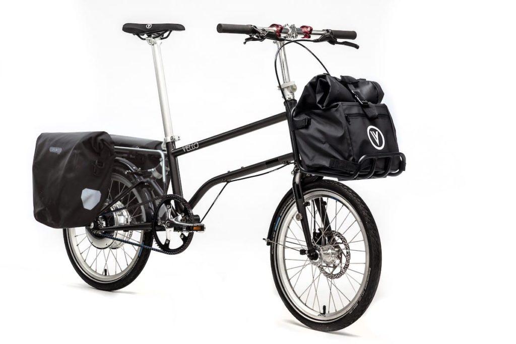 Bike+ von Vello mit Gepäckträger