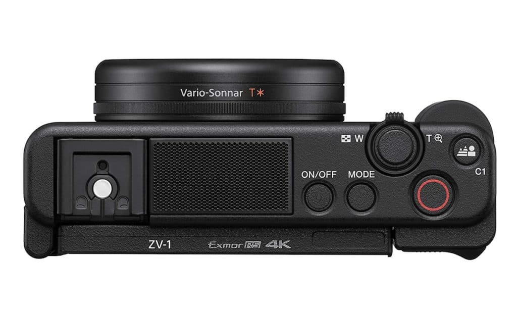 Bedienelemente der Vlog ZV-1 Kamera