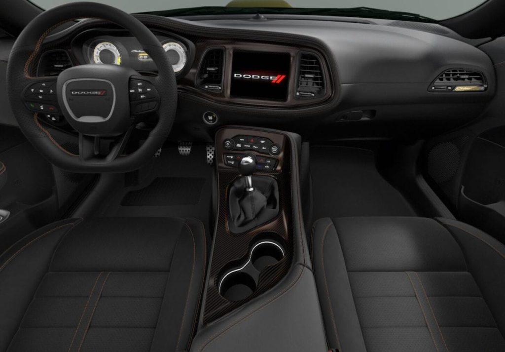 Cockpit und Innenrraum 2020 Dodge Challenger