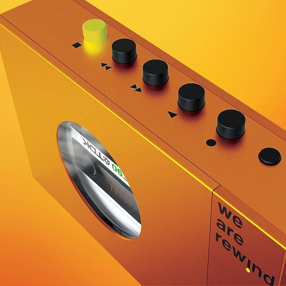 Detailansicht des Cassette Player