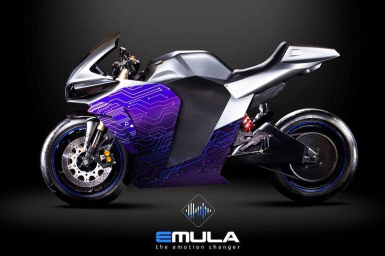 Emula Elektro-Motorrad
