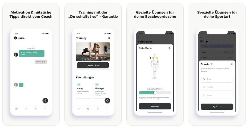 FitterYOU Der Personal Trainer - App für iOS und Android