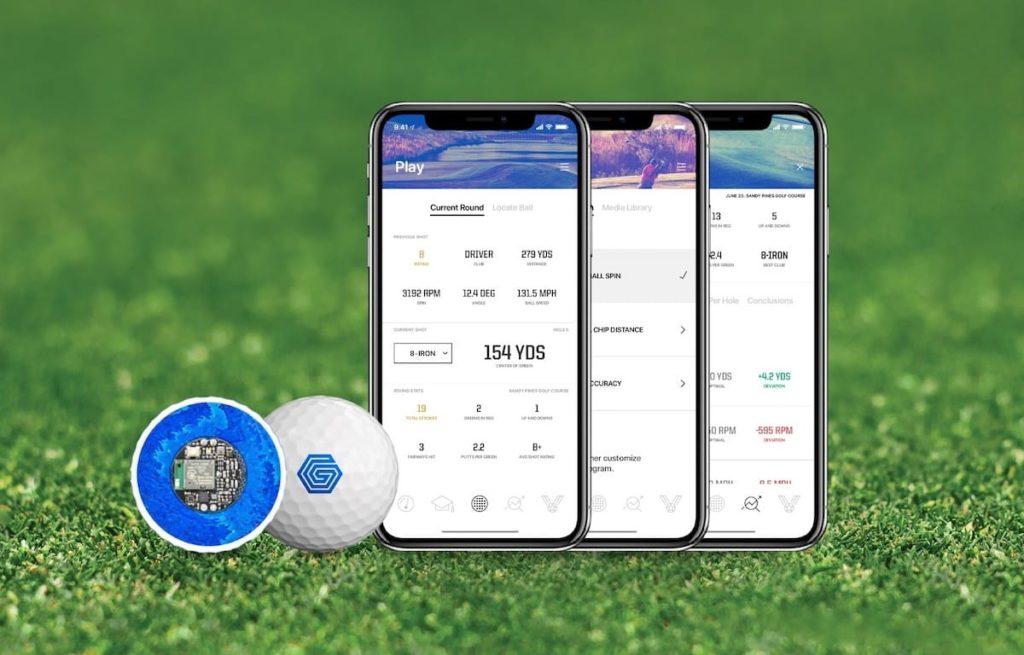 Graff Golf-Ball und Smartphone App