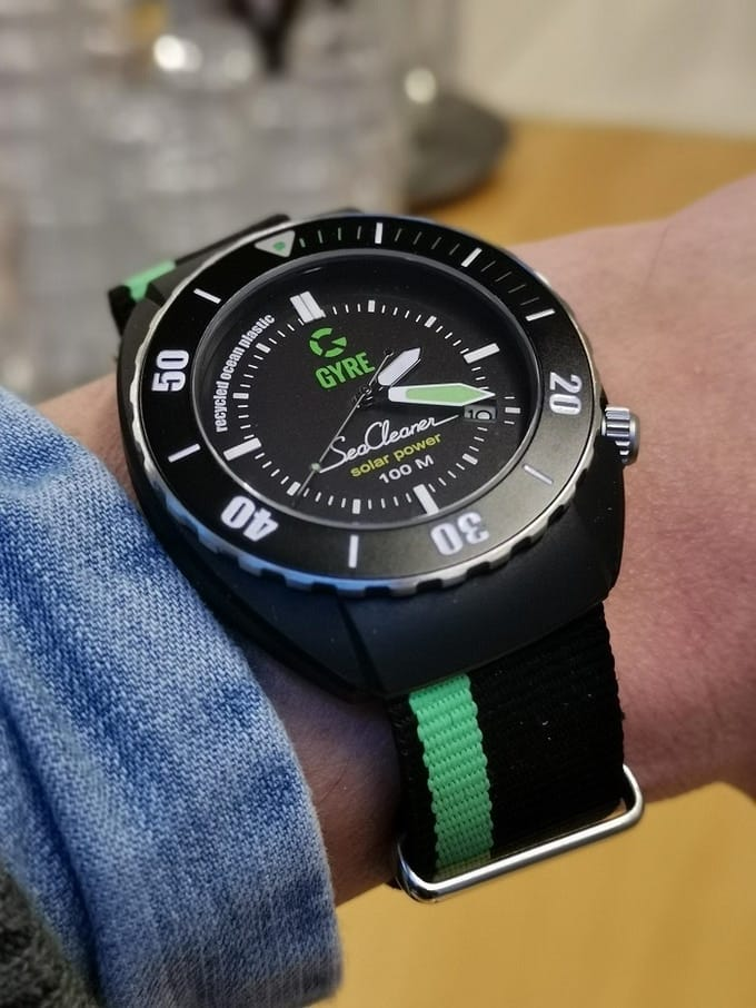 Abbildung der Gyre SeaCleaner Uhr