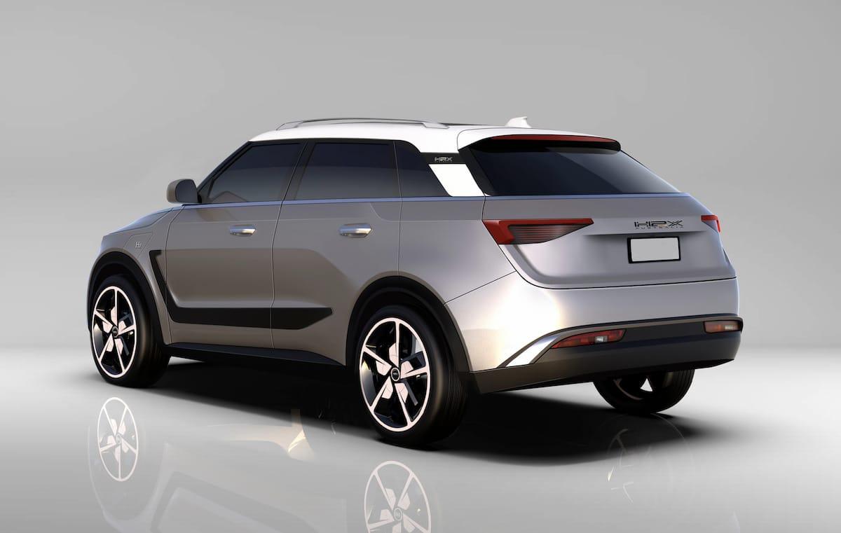 H2X Snowy SUV Seitenansicht