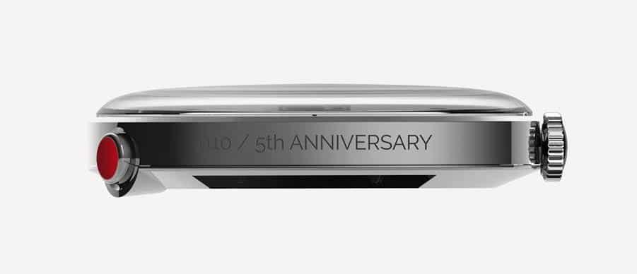 KLOK 01 5th Anniversary Gravur