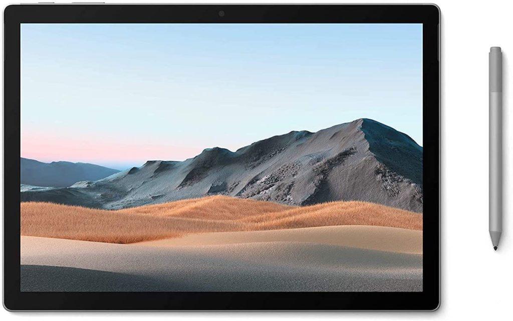Surface Book 3 Bildschirm wird zum Tablet oder zum mobilen Studio