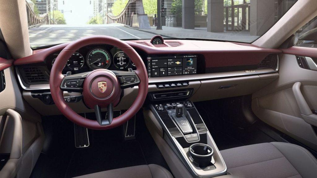 Interieur der 911 Targa 4S Heritage Design EditionInterieur der 911 Targa 4S Heritage Design Edition