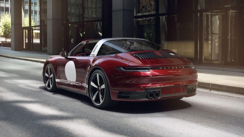 Porsche Heritage Design Edition in Cherry-Metallic