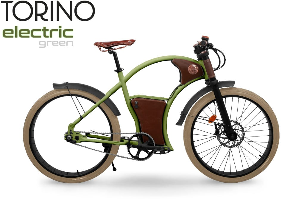 Rayvolt Torino E-Bike in Electric Green