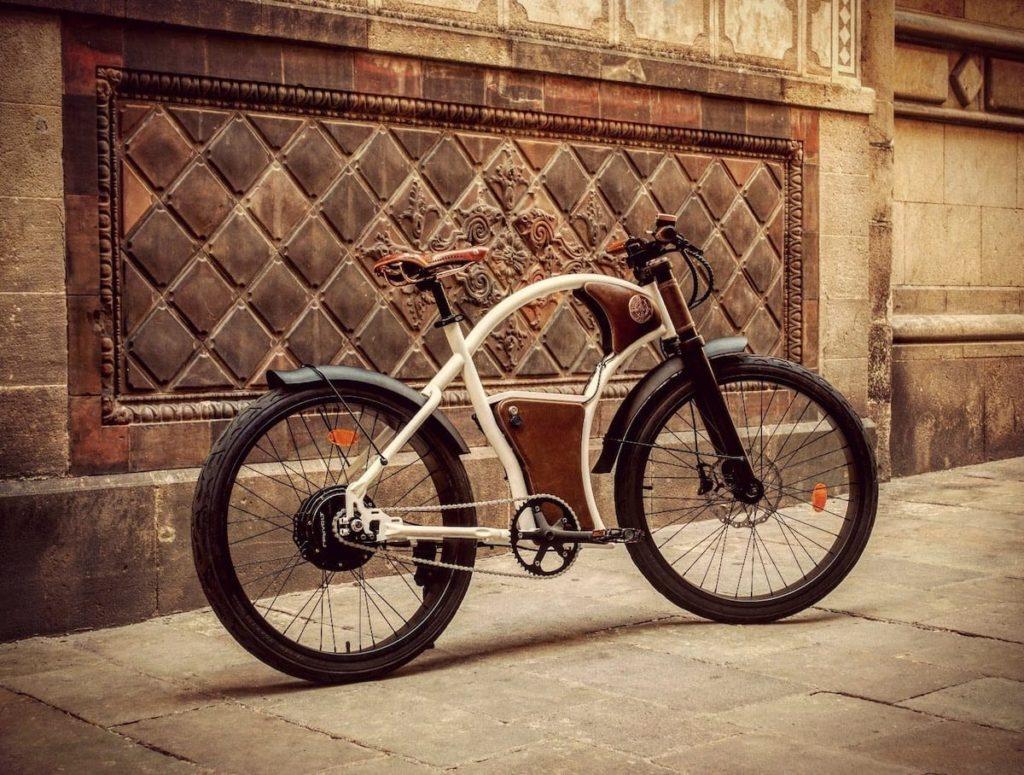 Rayvolt Torino E-Bike in Pearl White