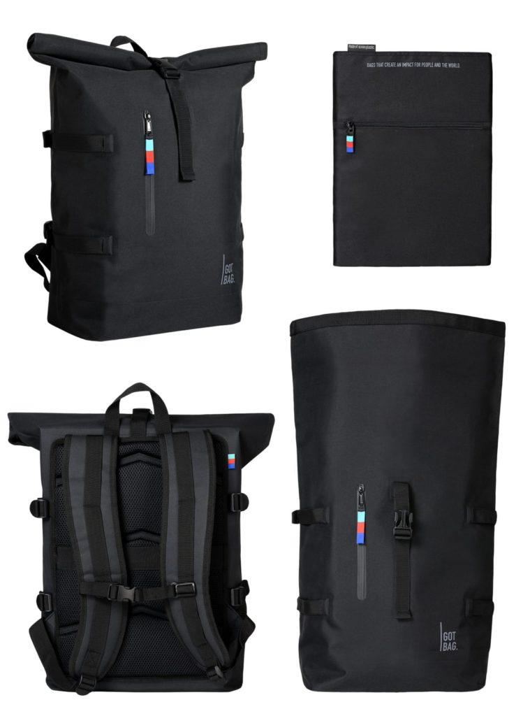 Rolltop Backpack Rucksack Abbildung