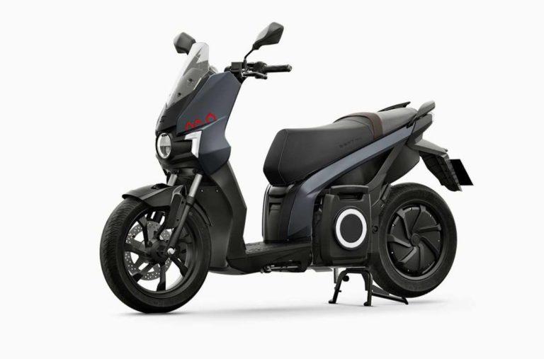 Seat eKickScooter 125 in Dark aluminum Matt
