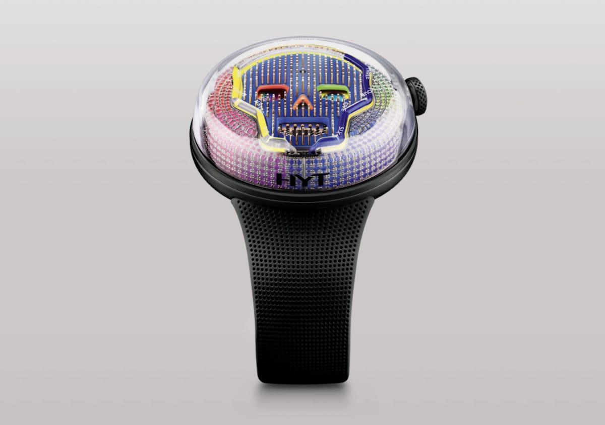 Die SOONOW INSTANT RAINBOW Uhr von HYT