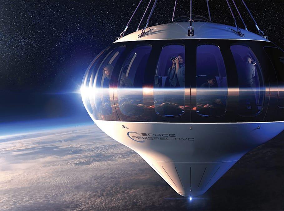 Spaceship Neptune Ballon