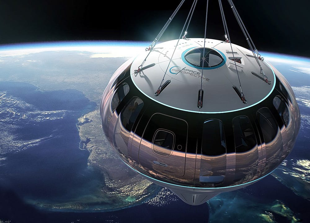 Spaceship Neptune  Raumkapsel