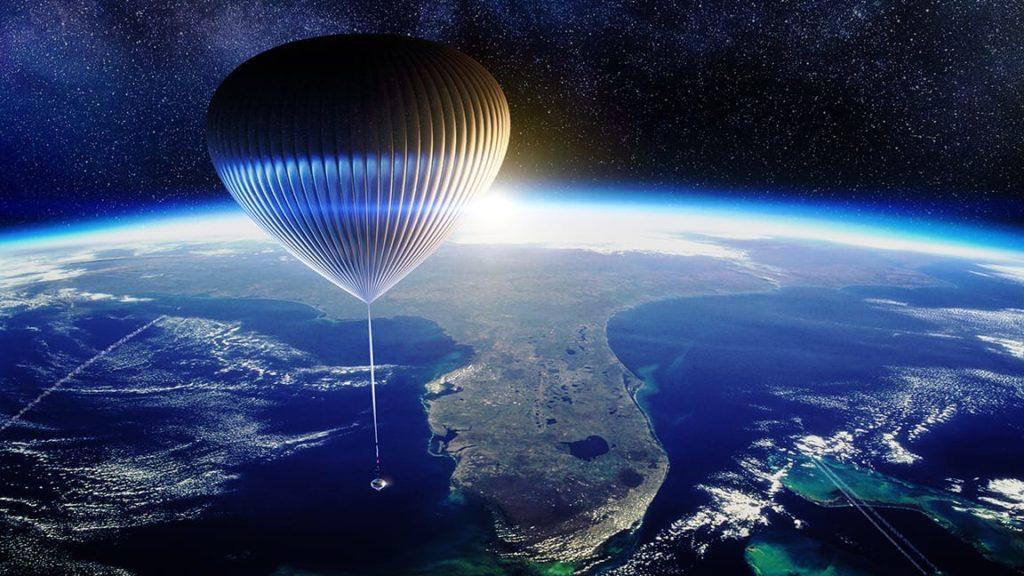 Reise mit dem Spaceship Neptune Ballon