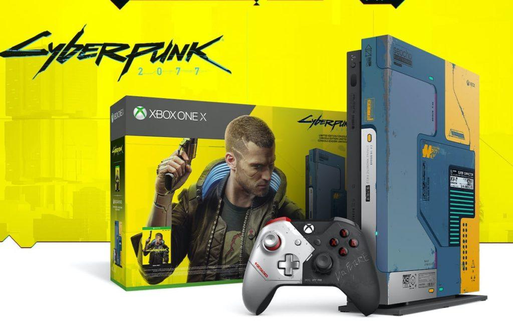 Xbox One X Cyberpunk 2077 Konsole