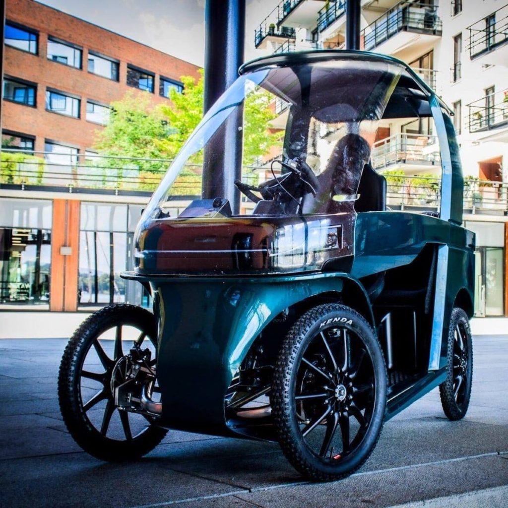 CityQ Auto-eBike Abbildung