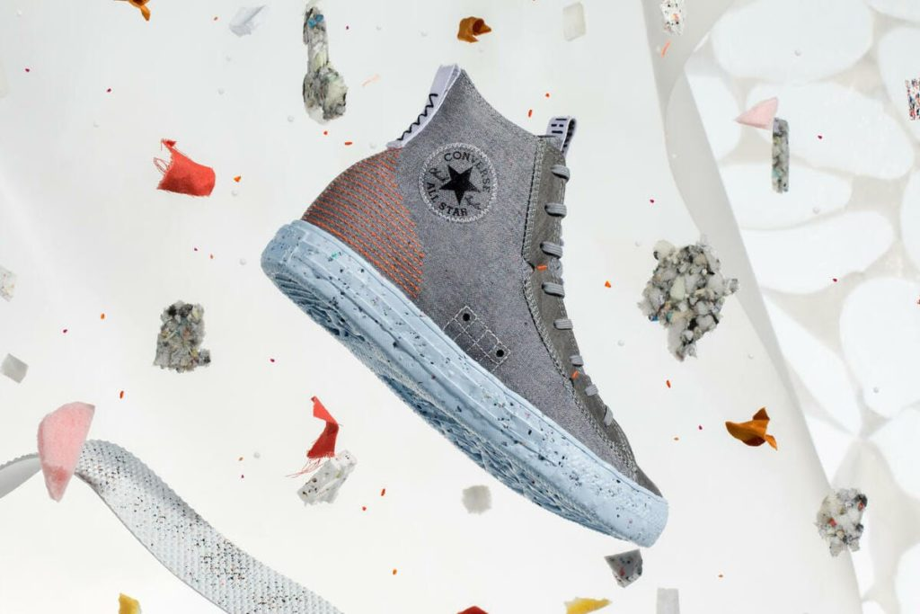 Chuck Taylor All Star Crater in Grau