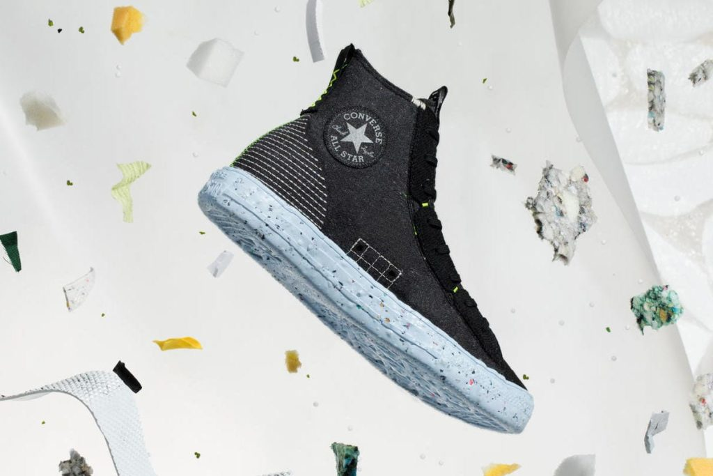 Chuck Taylor All Star Crater in Schwarz