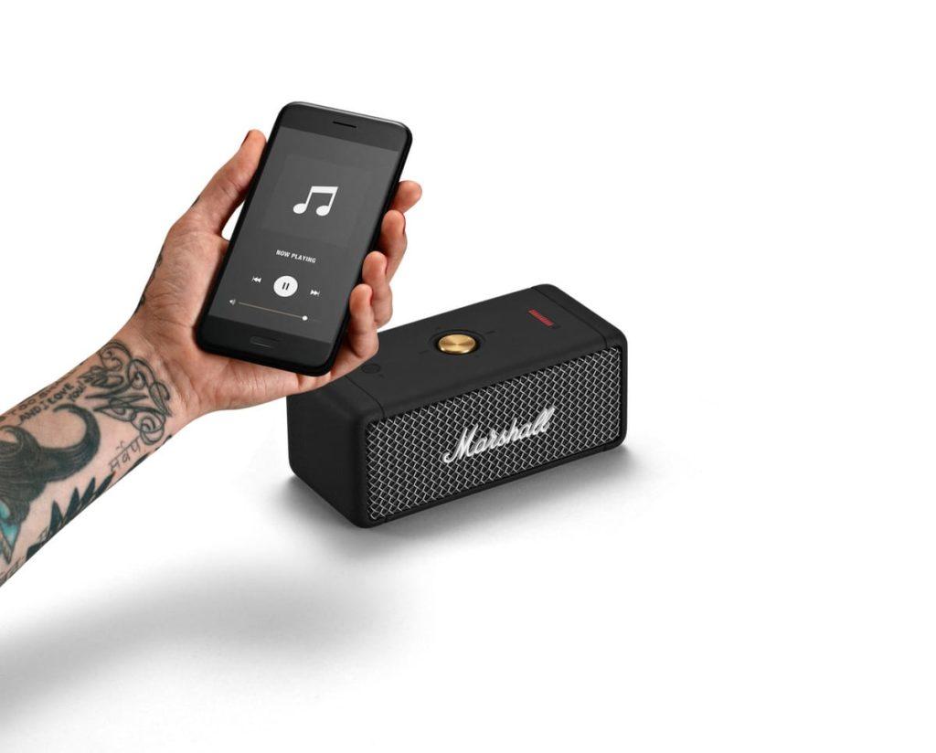 Emberton Lautsprecher und Smartphone App