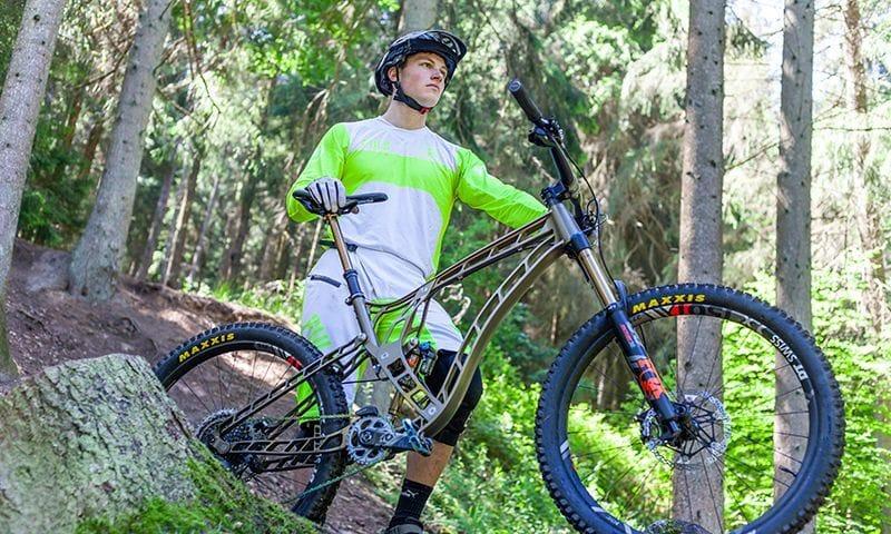 FRACE Bike F160 im Gelände