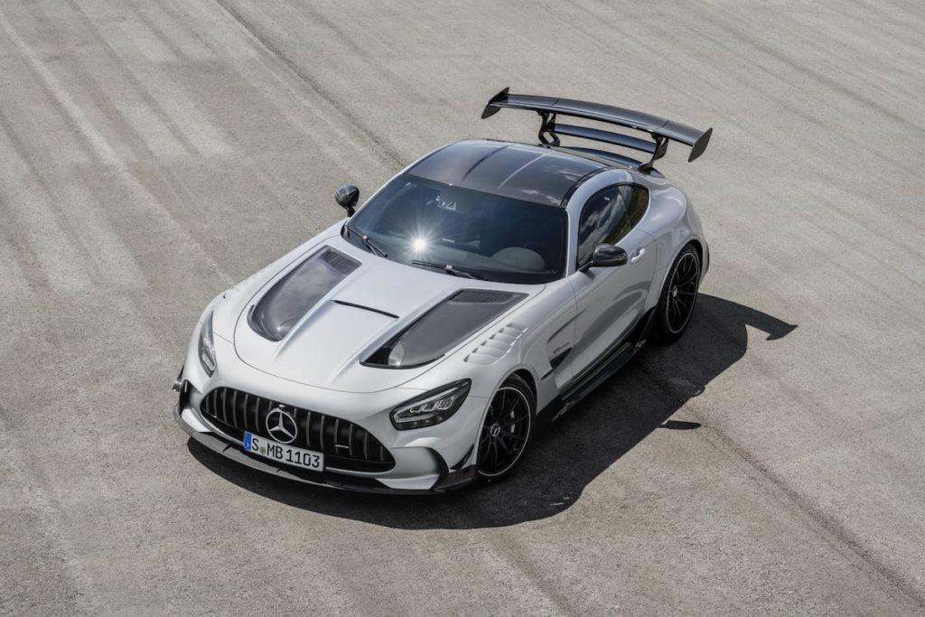 Frontansicht - Mercedes AMG GT Black Series