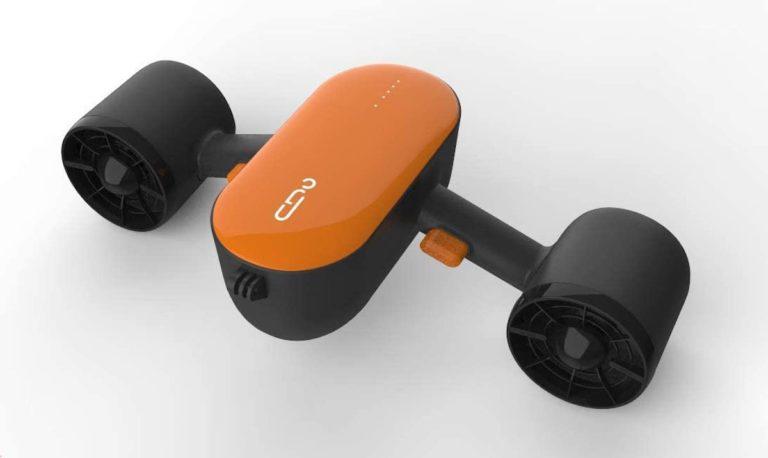 Geneinno Unterwasserscooter MOVESEA Trident S2 Orange