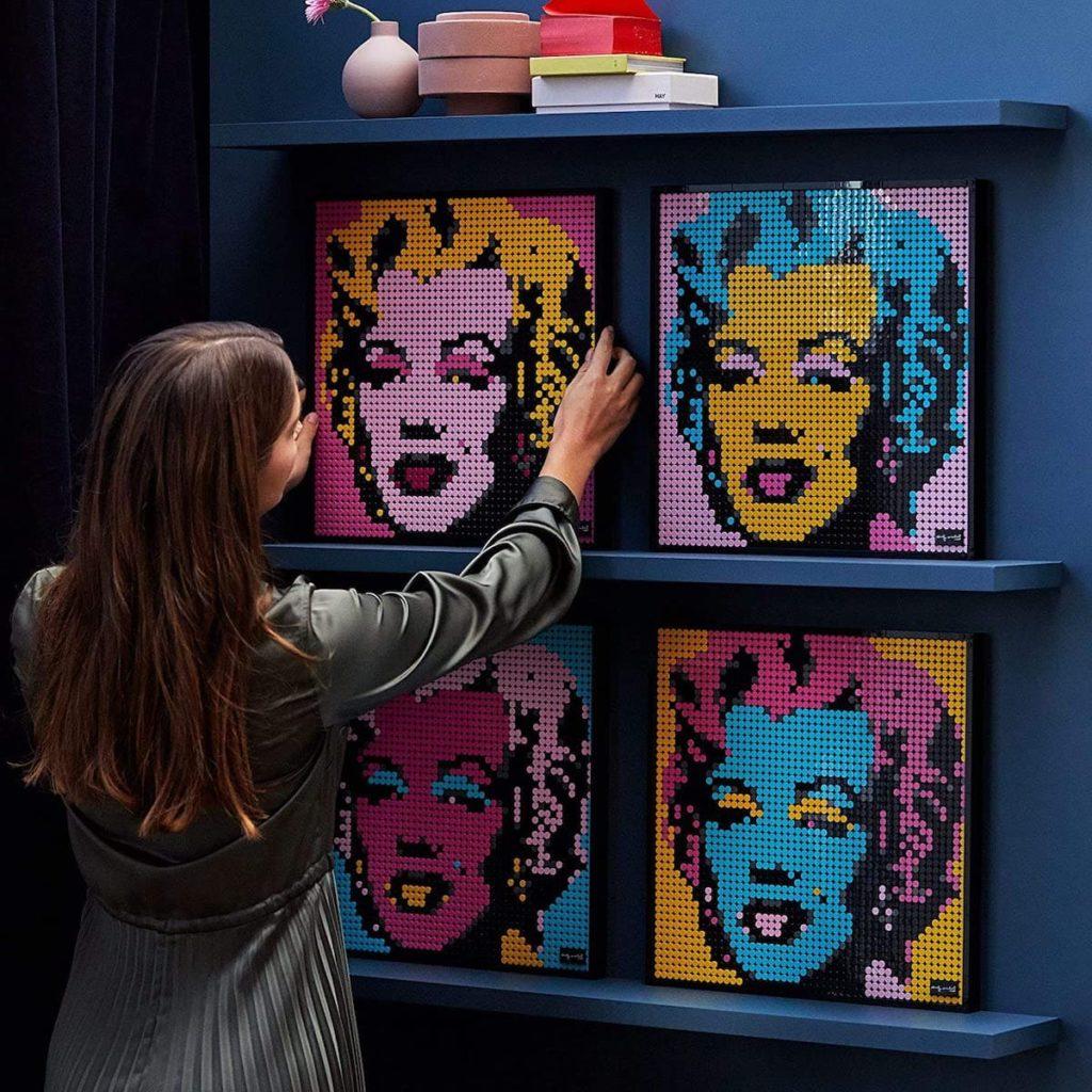 LEGO 31197 Art Andy Warhol's Marilyn Monroe