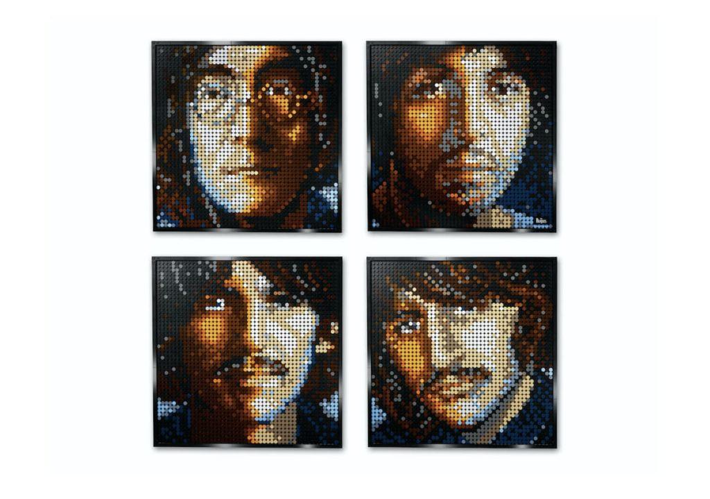 Lego Art: The Beatles