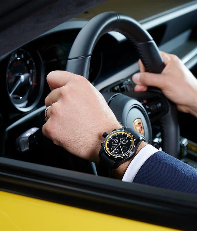 Porsche Chronograph passend zum Sportwagen