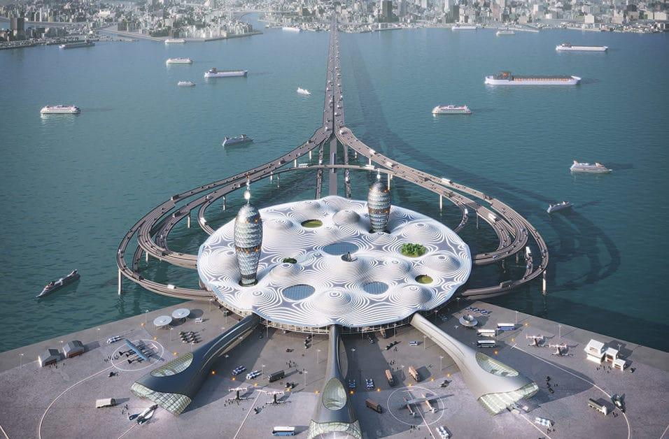 Spaceport City von noiz Architects