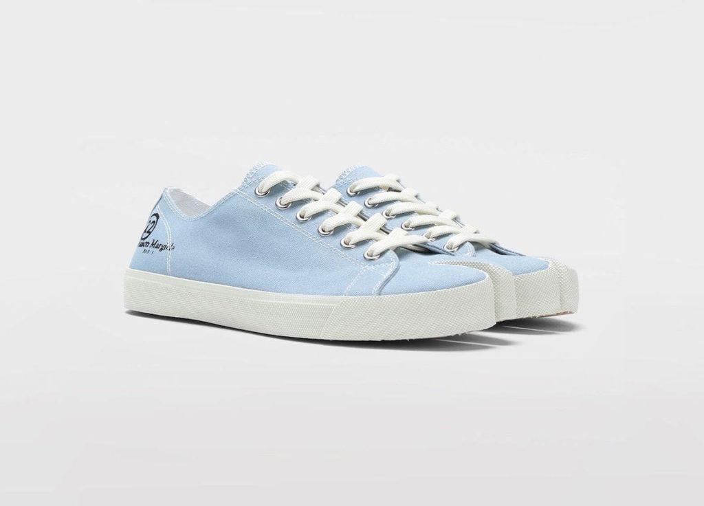 Tabi Sneakers in Blaugrau