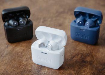 Airy True Wireless in Night Black, Silver White und Steel Blue