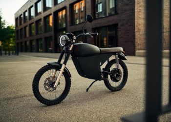 Blacktea Motorbikes Moped