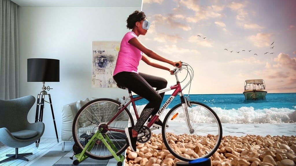 Virtuelles Fahrradfahren mit Blync