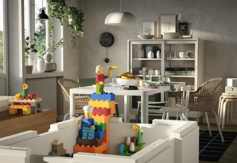 BYGGLEK Aufbewahrungsboxen von LEGO und Ikea