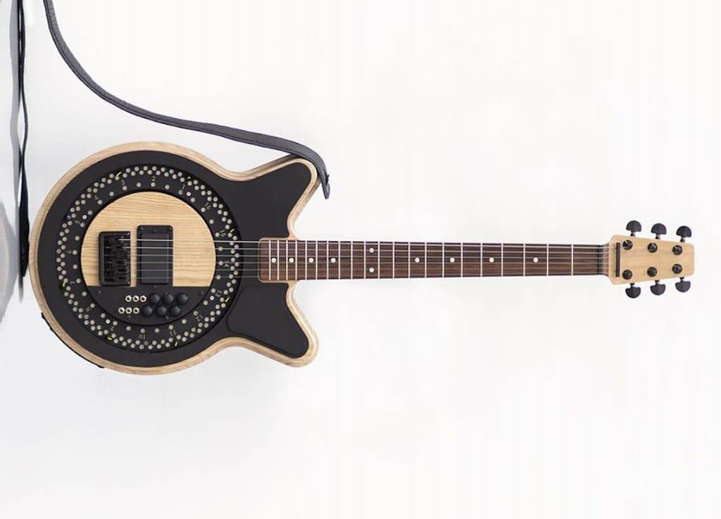 Die selbstspielende Circle Guitar Gitarre