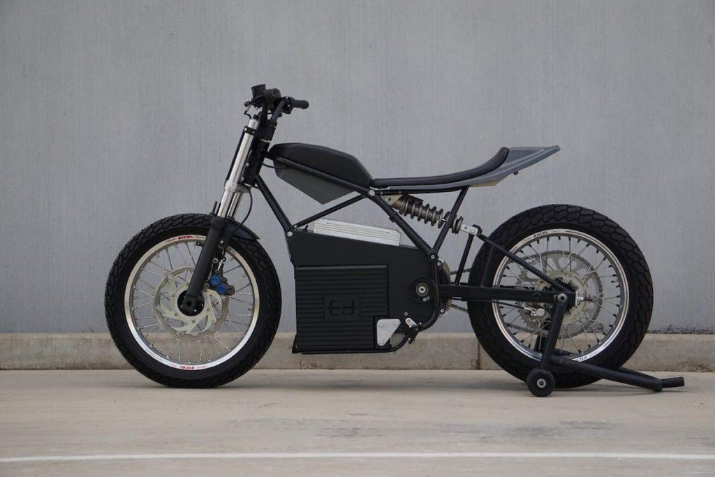 Concept Z Elektro-Motorrad von Ed Motorcycles