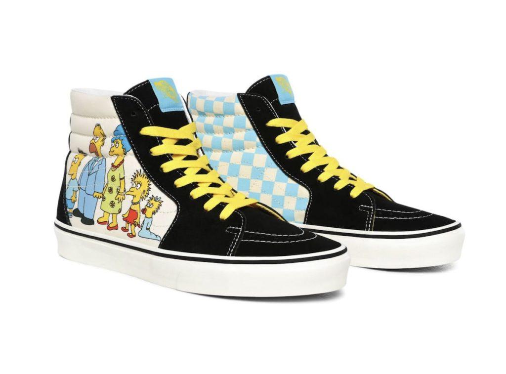 Die Simpsons X Vans 1987-2020 SK8-HI Schuhe