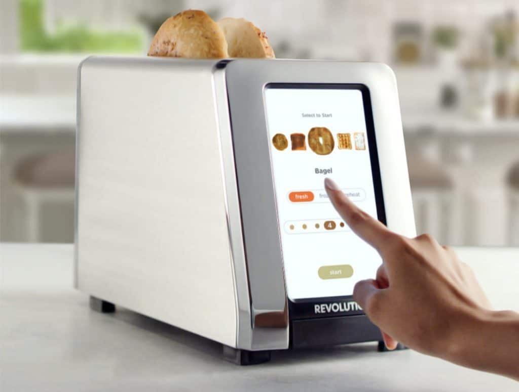 Digitaler Toaster: R180 Smart Toaster